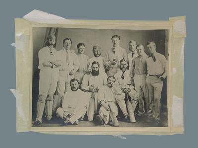 "Photograph, ""The Third English Team in Australia"""