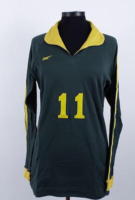 Australian team indoor volleyball uniform worn by Kerri Pottharst, circa 1990s