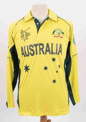 Australian team shirt, 2015 Cricket World Cup