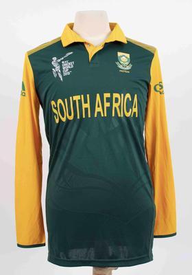 South African team shirt, 2015 Cricket World Cup