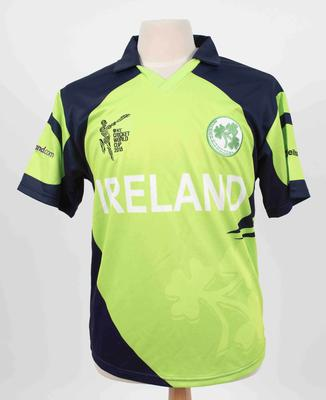 Ireland team shirt, 2015 Cricket World Cup