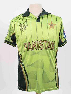 Pakistan team shirt, 2015 Cricket World Cup