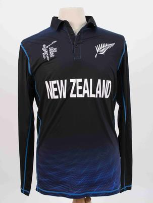 New Zealand team shirt, 2015 Cricket World Cup
