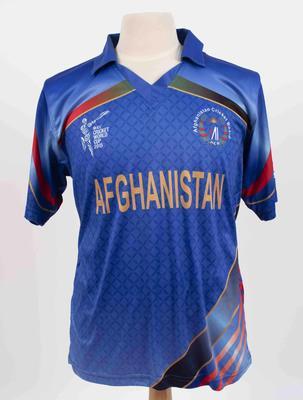 Afghanistan team shirt, 2015 Cricket World Cup
