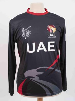 United Arab Emirates team shirt, 2015 Cricket World Cup