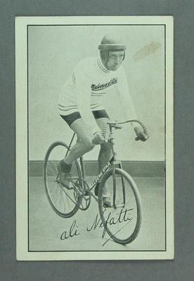 Trade card featuring Al Nefatti, c1930s
