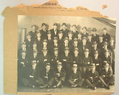Photograph of VFL Representative team, 1939