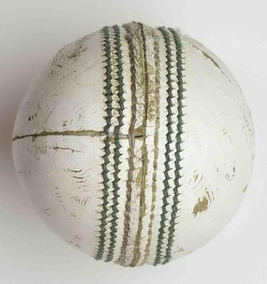 Cricket ball used during Australia's opening match, 2015 Cricket World Cup