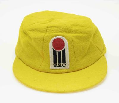 Australia World Series Cricket cap worn by Doug Walters, c. 1978-79