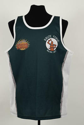 Competition singlet worn by Nevanka Woolley, 2018 Sydney Royal Easter Show