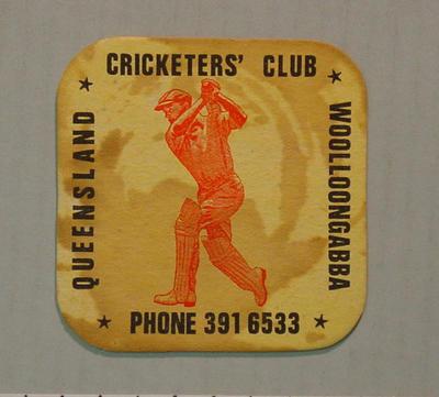Coaster, Queensland Cricketers' Club