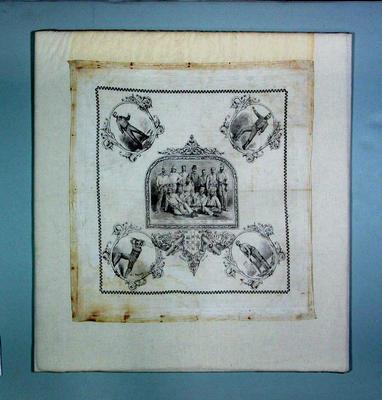 Handkerchief, Australian XI 1878