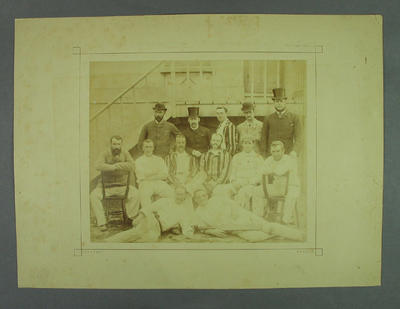 Photograph:  Third Australian Eleven, Sussex 1882; Photography; M7619