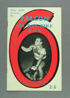 Programme - The Falcon Six Day Bike Race, No 667, 11-17 March 1962