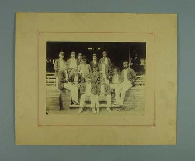 Members of Australian cricket team touring England, Stoke on Trent July 1890