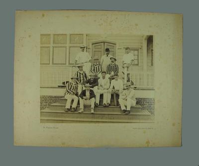 Photograph - Philadelphia Cricket Team - Australian XI visit to USA 1893