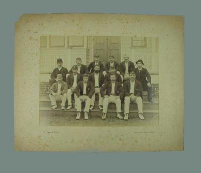 Photograph - Australian XI  during visit to USA, Philadelphia 1893