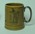 Mug, printed image of W G Grace batting