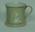 Ceramic mug, cricket design