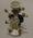 Ceramic Staffordshire spill vase with figure of Thomas Box, 1840