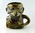 Ceramic mug in the form of Don Bradman caricature