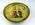 Plate, raised cricketer design
