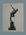 Photograph of figurine, cricketer bowling