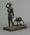 Statuette - figure of a lifesaver titled 'Vigilance & Service' SLSA Australia c. 1930