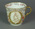 Aynsleyware ceramic tea cup with Queen Victoria & sporting scenes design