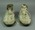 Pair of cricket shoes, worn by Leo O'Brien during the 'Bodyline' series - 1932/33