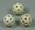 Three practice golf balls, c1960s