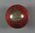 Cricket ball presented to Frank Laver, East Melbourne Cricket Club Best Bowling Average 1890/91