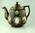 Teapot lid, cricket design