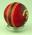 Unused red Kookaburra cricket ball in box - from 1977 Centenary Test