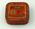 Typewriter ribbon tin and lid, Peerless brand