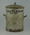 Miniature dustbin: 'Battleship' dustbin .. For the Ashes - commemorating 1930 Test series