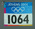 Competitor's number, worn by Nick Harrison at 2004 Athens Olympic Games