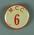 "Badge worn by MCG event duty staff, ""MCC 6"""