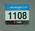 Competitor's number '1108' worn by Kerryn McCann, Women's Marathon, 2006 Commonwealth Games