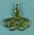 Lapel pin, Olympic Rings with kangaroo c1956