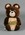 """Soft toy, """"Misha"""" - 1980 Moscow Olympic Games mascot"""