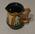 Doulton Lambeth jug with cricketer figures, 1883