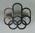 Lapel pin, 1976 Montreal Olympic Games logo