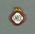 South Melbourne Cricket Club membership badge, season 1935/36