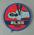 Cloth badge, Royal Life Saving Society CPR c1982