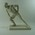 Paste statue of athlete Edwin Flack by sculptor Peter 'Smiley'Williams