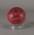Cricket ball, used by Shane Warne to equal world record for Test wickets taken - Cairns, 13 July 2004