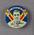 Badge with image of Alec Bedser, 1950-51