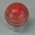 Cricket ball, used by Frank Thorn