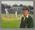 Painting, original - Bradman First Test Century - by artist Dave Thomas 2003
